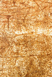 Rusty metal with scratchy effect on it, texture background Royalty Free Stock Photos