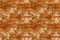 Rusty metal seamless pattern background Royalty Free Stock Photography