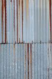 Rusty metal sheet Stock Photography
