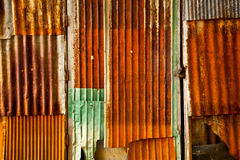 The rusty metal sheet Royalty Free Stock Images