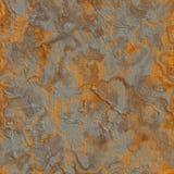 Rusty Metal Sheet. Naadloze Tileable-Textuur. Royalty-vrije Stock Afbeelding
