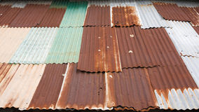 Rusty metal sheet Royalty Free Stock Images