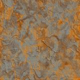 Rusty Metal Sheet. Seamless Tileable Texture. Stock Photography