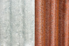 Rusty metal sheet Royalty Free Stock Photos