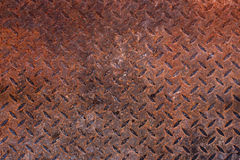 Rusty metal sheets Royalty Free Stock Photography