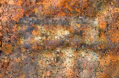 Rusty metal surface Stock Photos