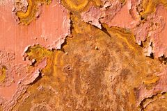 Rusty metal surface Stock Photo