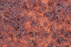 Rusty metal surface Stock Image