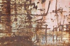 Rusty Metal Surface Background abstracto Fotografía de archivo