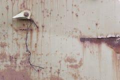 Rusty Metal Surface Background anziano astratto Fotografia Stock Libera da Diritti