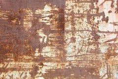 Rusty Metal Surface Background astratto Fotografia Stock