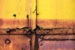 Rusty metal surface Royalty Free Stock Photos