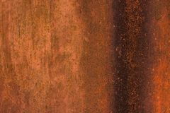 Rusty surface with smudges. Rusty metal surface with smudges Royalty Free Stock Images