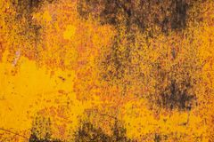 Rusty metal surface texture background. Close up stock photo