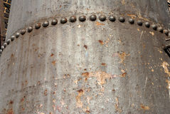 Rusty metal tank Royalty Free Stock Images