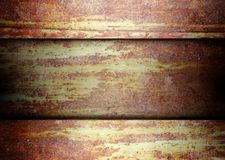 Rusty metal template grunge background Royalty Free Stock Images