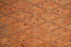 Rusty metal texture. Rusty metal plate background texture Stock Images