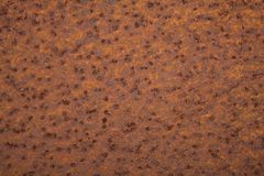 Rusty metal texture. Rusty metal plate, background texture Royalty Free Stock Photo