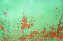 Rusty metal texture. Rusty painted metal surface texture Royalty Free Stock Image