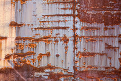 Rusty Metal Texture Lizenzfreie Stockfotos
