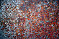 Rusty Metal Texture Stockfotos