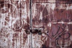 Rusty Metal Texture Imagenes de archivo