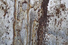Rusty metal texture Stock Photography