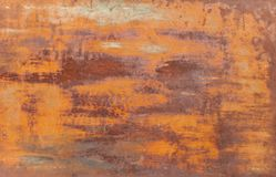 Rusty metal texture background. Dark old wallpaper royalty free stock photos