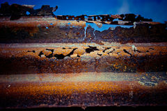 Rusty metal texture background Stock Image