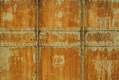 Rusty metal texture of freight wagon Stock Photo