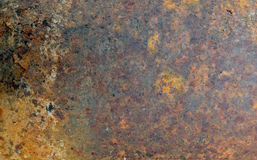 Rusty Metal Texture Grunge Abstract Background. Colored old rusty steel metal texture background with red, brown and dark color Royalty Free Stock Images