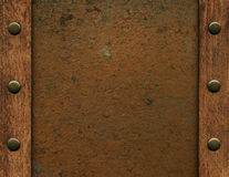 Rusty metal texture Stock Image