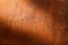 Rusty metal texture or rusty metal background for interior exterior decoration and industrial construction concept design. Rusty metal is caused by moisture in Stock Image