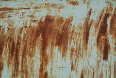 Rusty metal texture. Texture of rusty metal wall stock photo