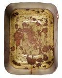 Rusty metal tin can Royalty Free Stock Photos