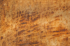 Rusty metal tin surface Stock Image