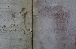 Rusty metal wall. Old rusty metal plategrunge texture Royalty Free Stock Images
