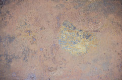 Rusty metal wall Royalty Free Stock Photography