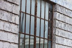 Rusty Metal Window Stock Images