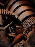 Rusty Metal y engranajes Fotografía de archivo libre de regalías