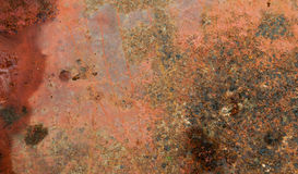 Rusty Metall Plate Stockbilder