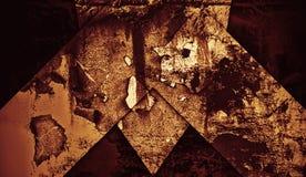 Rusty metallic background. Abstract pattern texture for design. Rusty metallic background. Abstract shape pattern texture for design stock photography