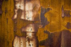 Rusty metallic background Royalty Free Stock Photography