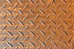 Rusty metallic background Royalty Free Stock Photo