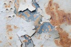 Rusty metallic frame Stock Photo