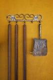 Rusty Metallic Shovel Imagenes de archivo
