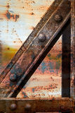Rusty metallic structure 1 Royalty Free Stock Photos