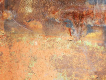 Rusty metallic surface Royalty Free Stock Image