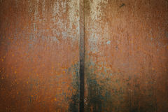 Rusty Metallic Wall Stock Image