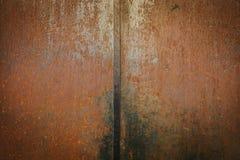 Rusty Metallic Wall imagem de stock